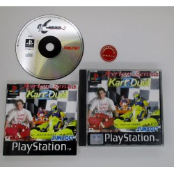 Ayrton Senna Kart Duel   mint