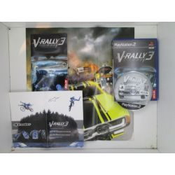 v-rally 3  + poster  near mint