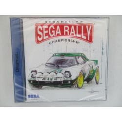 sega rally  sealed